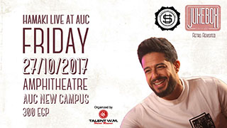 Hamaki will perform in AUC, 27th of October