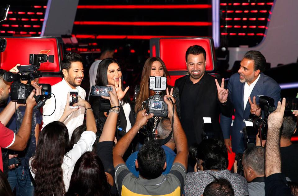 Hamaki joins The Voice coaches!